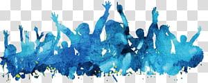 Pintura em aquarela Cartaz azul, Pessoas material de fundo azul aquarela poster, cerceta e azul PNG clipart