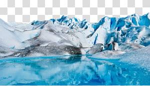 ilustração de montanha de neve, geleira Upsala Argentino lago Iceberg antártico, iceberg PNG clipart