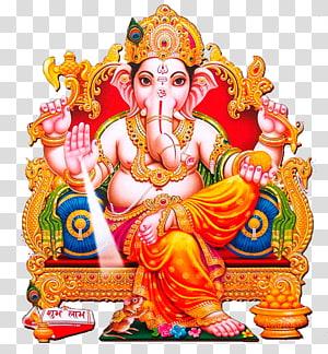 Ilustração de Ganesha, Hinduísmo da divindade Shiva Ganesha Ganesh Chaturthi, ganesha PNG clipart