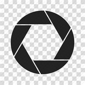 logotipo preto do navegador Google Chrome, lente da câmera Abertura do obturador, lente s s PNG clipart