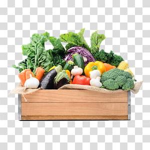 variedade de vegetais na caixa, frutas vegetais mercearia alimentos, legumes e frutas cesta PNG clipart
