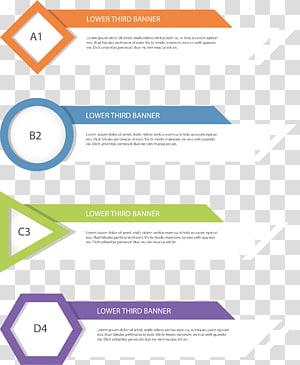 Papel Web banner Geometria, banners de caixa de título de geometria PNG clipart