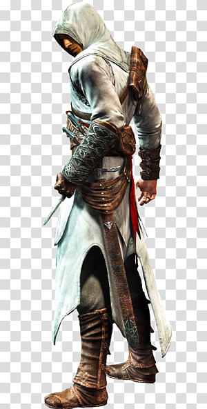 Ilustração de Assassin's Creed, Assassins Creed III Assassins Creed: Bloodlines Assassins Creed: Revelations, Altair Assassins Creed PNG clipart
