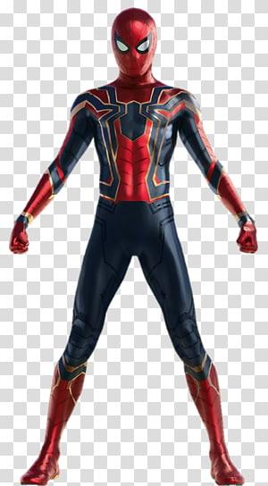 Marvel Iron Spider, Homem-Aranha Iron Man Hulk Thanos Black Widow, vingadores desenho PNG clipart