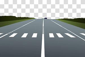 estrada de asfalto cinza, rodovias rodoviárias Travessia de pedestres, rodovias de cimento png