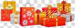 Presente de Natal Filipinas Papai Noel, Presentes de Natal, Presentes de Natal PNG clipart