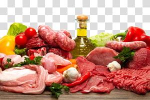 carne crua e legumes em cima da mesa, salsicha bife carne de veado alimentos orgânicos carne, carne PNG clipart