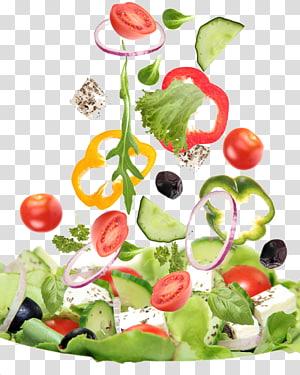 fatia de legumes, salada grega Vegetable Food Salad bar, salada png