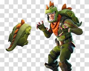 pacote de fantasia de dinossauro verde, jogo Fortnite Battle Royale para PlayStation 4 Battle royale, Fortnite png