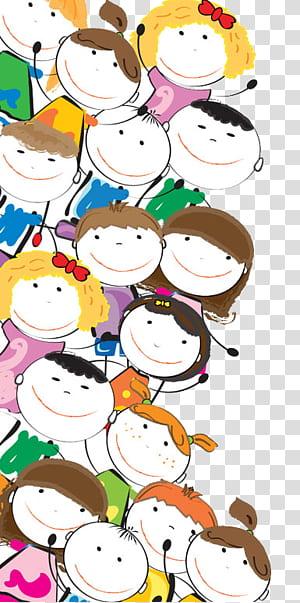 Calendário criança ilustração tempo, Cartoon crianças, personagens de desenhos animados ilustração PNG clipart