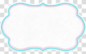 Sistema de escrita Art, material de borda em nuvem, branco e azul png