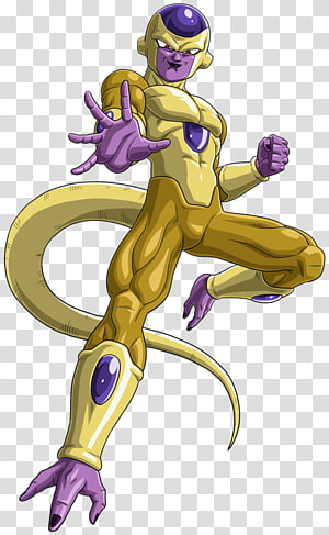Dragon Ball Golden Frieza, Frieza Trunks Goku Vegeta Beerus, um soco png