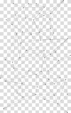 Padrão de simetria de ponto de linha, padrões de linhas geométricas abstratas, ilustração de linhas pretas PNG clipart
