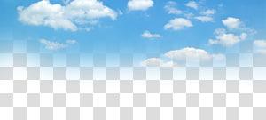 Céu azul e nuvens brancas, de céu azul PNG clipart