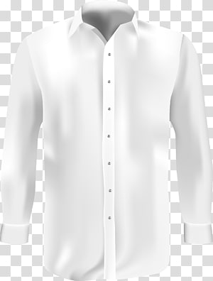 camisa branca, blusa camisa branca, roupa formal, camisa branca PNG clipart