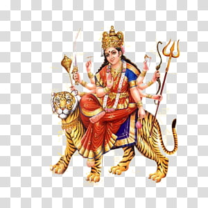 deusa durga ilustração, vaishno devi navaratri durga bhavani felicidade, deusa durga mata PNG clipart