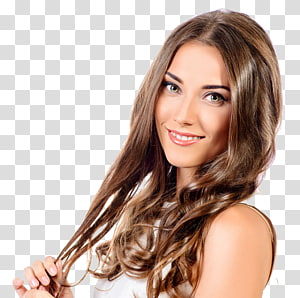 mulher sorridente, batom rosa, penteado cosméticos beleza, belas modelos PNG clipart