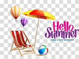 Olá verão, aproveite cada momento!Praia Verão Grande Verão PNG clipart