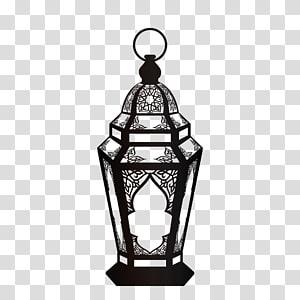 ilustração de lanterna preta, Alcorão Ramadan Islam Fanous Muslim, ornamentos de lâmpada religiosa negra png