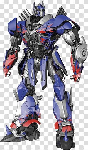 ilustração de robô azul, cinza e vermelho, Optimus Prime Bumblebee Adesivo de parede Transformers, Optimus Prime png