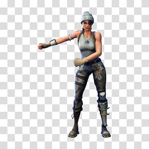 Ilustração de personagem feminina do Fortnite Scout, Fortnite Battle Royale PlayerUnknown \ 's Battlegrounds, Fortnite png