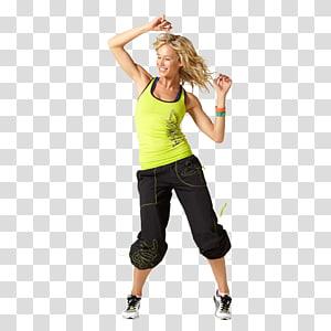 mulher de blusa verde, condicionamento físico Zumba Sportrade fit, & wellness Roupas Exercício físico, zumba png