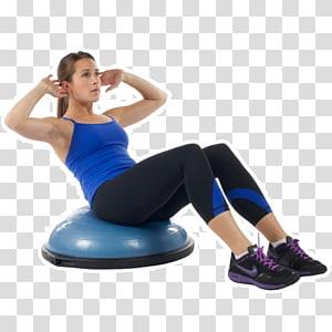 Personal trainer BOSU Equilíbrio Exercício Treinamento funcional, Fitness Class png