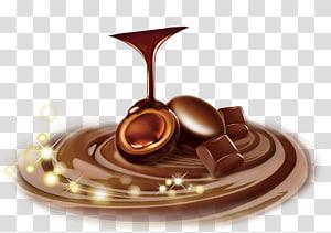 chocolate líquido, sorvete Barra de chocolate Chocolate branco Chocolate quente, chocolate PNG clipart