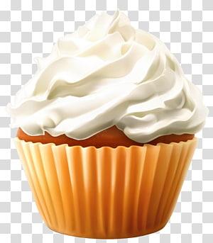 cupcake com glacê, camiseta de mangas compridas Cupcake programa de televisão, mini bolo com creme png