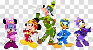 Pateta da Disney, Minnie e Mickey Mouse, e Pato Donald e Margarida, Pato Donald da Minnie Mouse pateta da Margarida, Pato Donald, vaca clarabelle PNG clipart