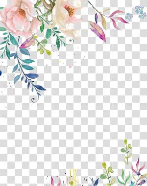 Convite de casamento Flor de papel Pintura em aquarela Tinta, Flor de tinta de aguarela, Flor de pétalas rosa png
