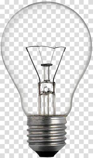 Lâmpada incandescente Lâmpada LED Diodo emissor de luz Iluminação, Uma lâmpada, lâmpada Edison ligada PNG clipart