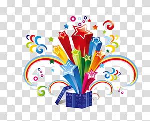 caixa de presente, ilustração de papel de presente, presente surpresa PNG clipart