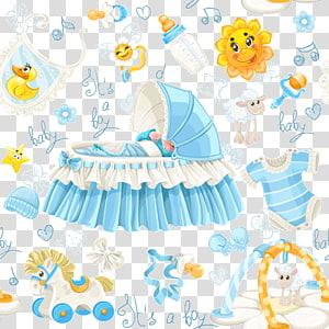 item do bebê, criança brinquedo infantil, bebê dos desenhos animados fornece material PNG clipart