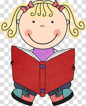 menina vestida de vermelho, lendo o site TeachersPayTeachers, lendo livros s PNG clipart