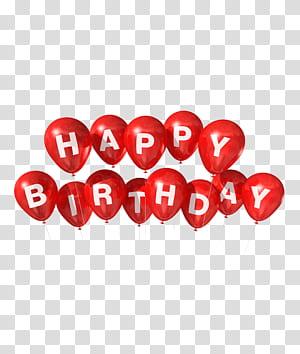 Balão de aniversário, feliz aniversario pintado, feliz aniversario ollustration png