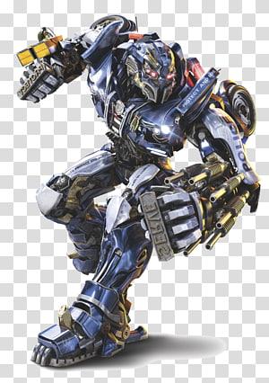 robô policial azul e amarelo, Optimus Prime Megatron Bumblebee Rodimus Barricade, transformador png