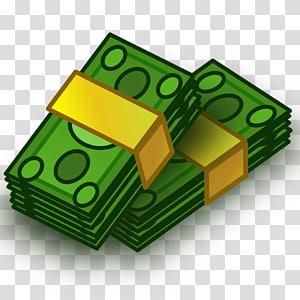 dois pacotes de ilustração de notas, dinheiro, dinheiro png