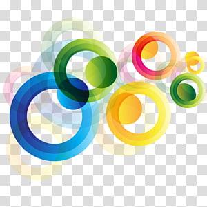cor sortida de ilustração de círculos, arquivo de computador do círculo euclidiano, redondo colorido PNG clipart