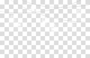 Linha Ponto de ângulo em preto e branco, luzes noturnas, luzes de corda brancas acesas PNG clipart