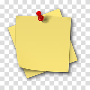papéis amarelos e aderência vermelha, Post-it note Salamah College Paper Sticker, Sticky note png