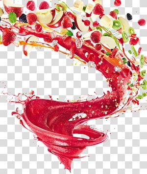 Suco KitchenAid Blender Mixer, frutas, frutas cortadas em cores sortidas png