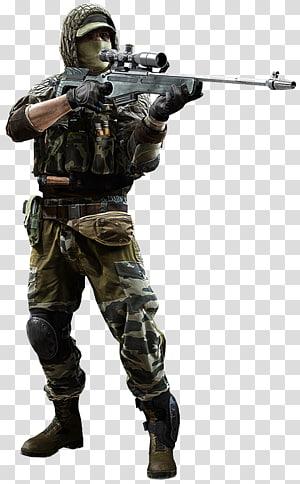 homem segurando rifle sniper, campo de batalha 4 campo de batalha 2 campo de batalha 3 campo de batalha: má companhia 2 PlayStation 3, campo de batalha png