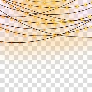 luz de corda ligada, lanterna de luz, luzes noturnas PNG clipart