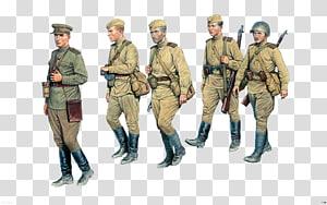 Rússia Segunda Guerra Mundial União Soviética Infantaria escala 1:35, exército png