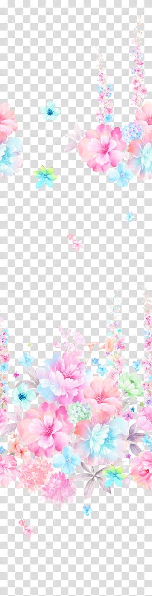 Pintura Flores Pintura em aquarela Design gráfico, Flores em aquarela, fundo floral PNG clipart