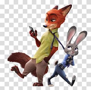 Tenente Judy Hopps Nick Wilde Finnick Toy, Judy Hopps e Nick-Wilde Zootopia, personagem da Vida Secreta dos Animais de Estimação png
