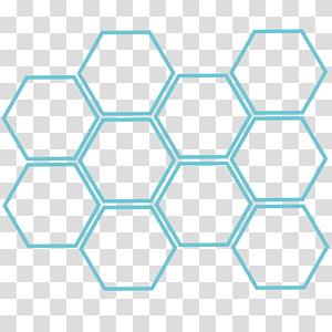 Abelha escura europeia Hexagon Honeycomb Honey bee, Caixa hexagonal, favo de mel png