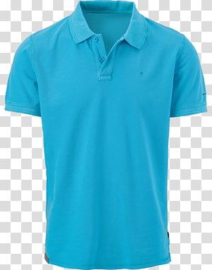 arte de camisa polo azul, camiseta camisa polo manga, camisa polo PNG clipart