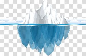 pintura branca do iceberg, oceano antártico do iceberg, iceberg antártico PNG clipart